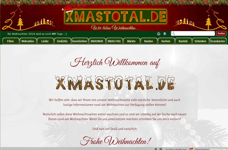 Weihnachtsgedicht Die Tante kommt - XMAStotal.de - Wir leben ...